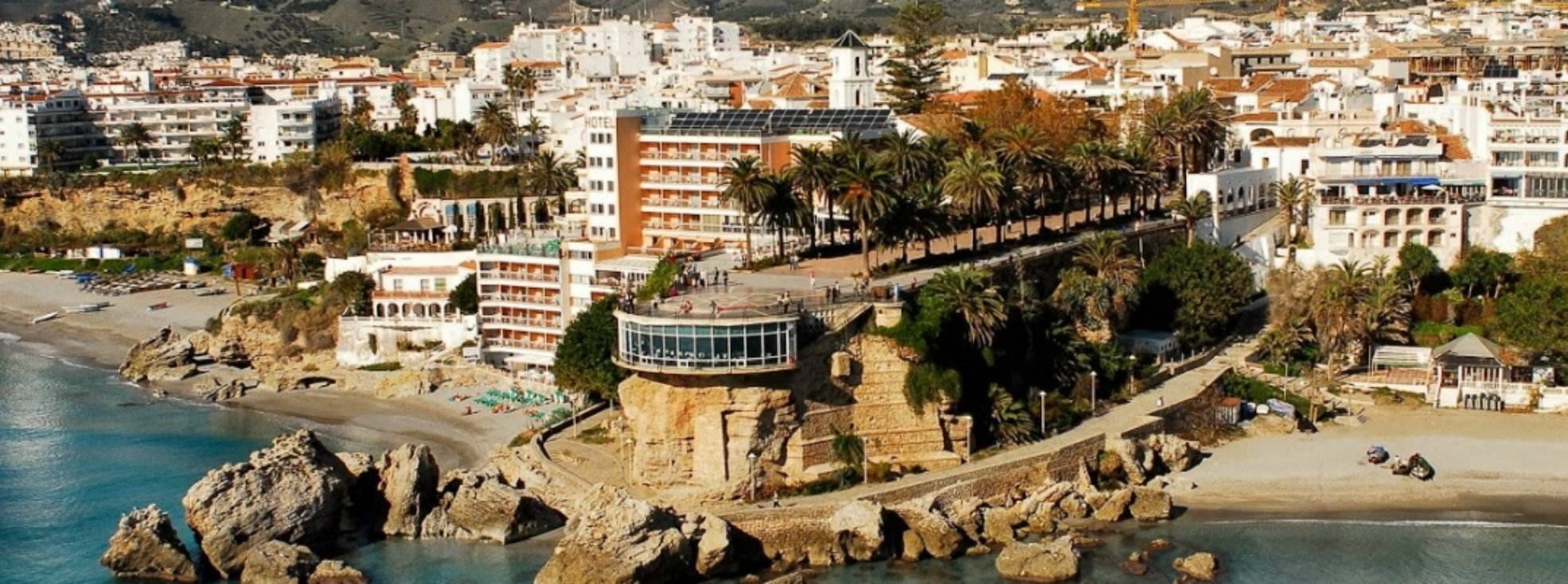 Located in Nerja's city centre